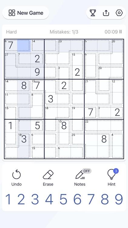 Killer Sudoku - Puzzle Games screenshot-7