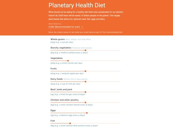 Planetary Health Diet screenshot 3