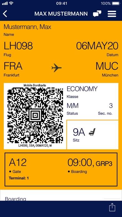 messages.download Lufthansa software
