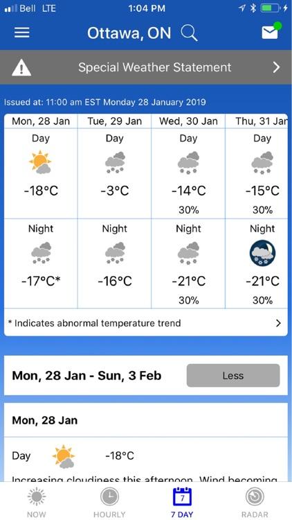 WeatherCAN screenshot-3