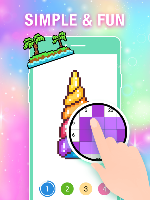 Color by Number Pixel Drawing screenshot 13