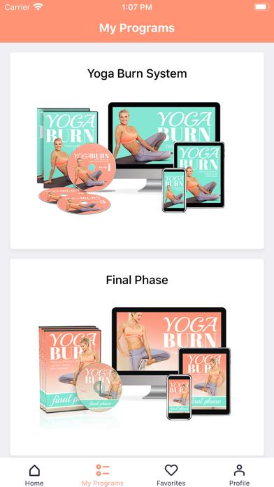 Yoga Burn Appのおすすめ画像4