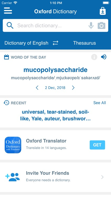 Oxford Dict. & Conc. Thes.
