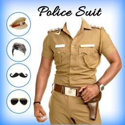 Men Police suit Photo Editor