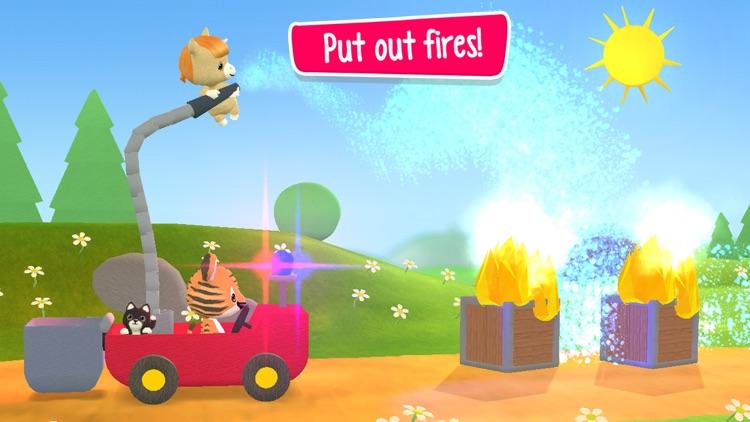 Little Tiger: Firefighter Kids screenshot-4