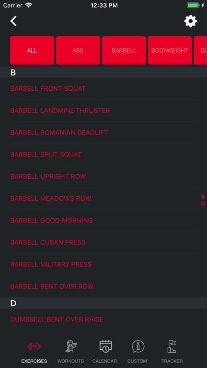 Weight Lift Log & Gym Tracker screenshot-4