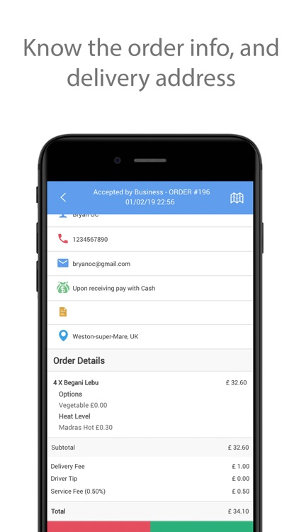 LYL Delivery App screenshot-2