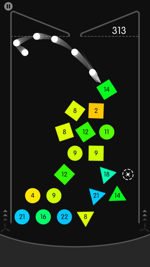 物理弹球 App 截图