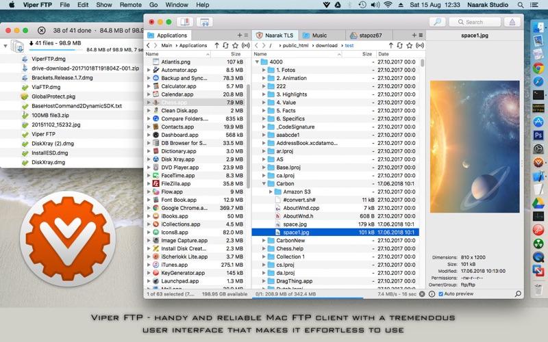 Viper FTP Screenshot 1