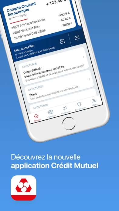 download Crédit Mutuel apps 1