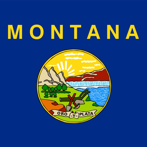 Montana state - USA stickers