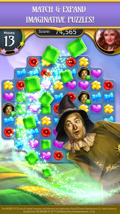 The Wizard of Oz Magic Match 3 free Gold hack