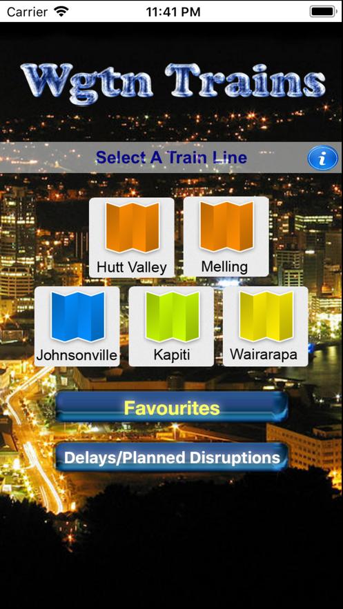 WGTN Trains App 截图