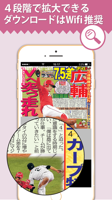 デイリー広島版Lite screenshot1