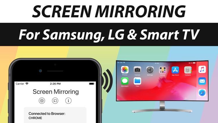 Screen Mirroring+ App