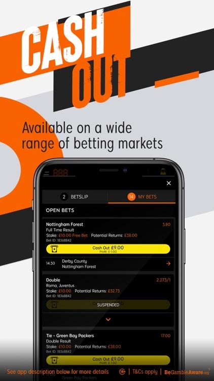 888 Sport: Live Sports Betting screenshot-4