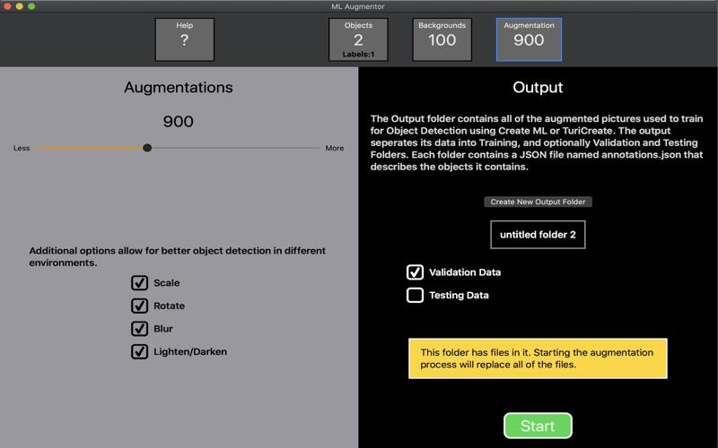 ML Augmentor screenshot 3