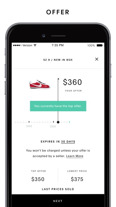 Screenshot for GOAT – Shop Sneakers in United States App Store
