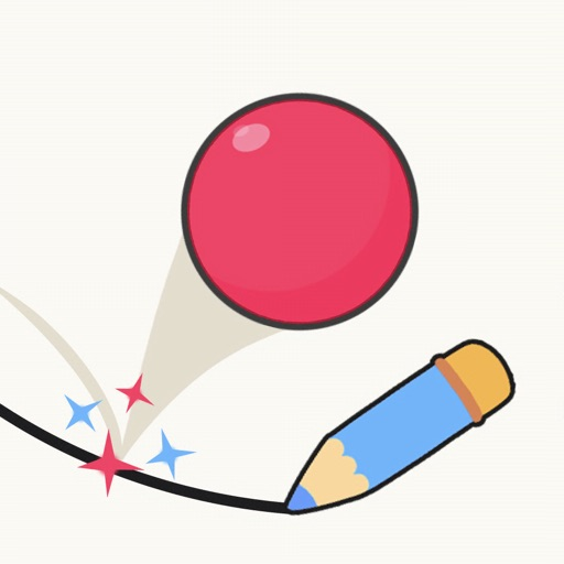 Draw Ball: Paint Color Line