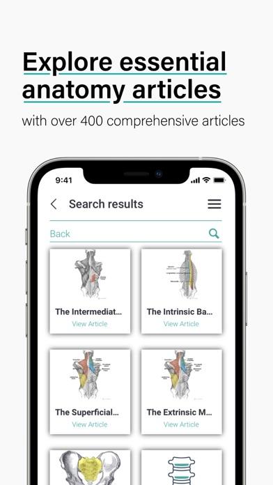TeachMe Anatomy: 3D Human Body Screenshot