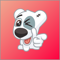 App Icon for Dog Spotty Sticker App in Russian Federation App Store