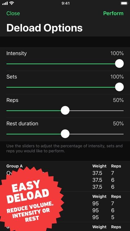 HeavySet - Gym Log Workout screenshot-8