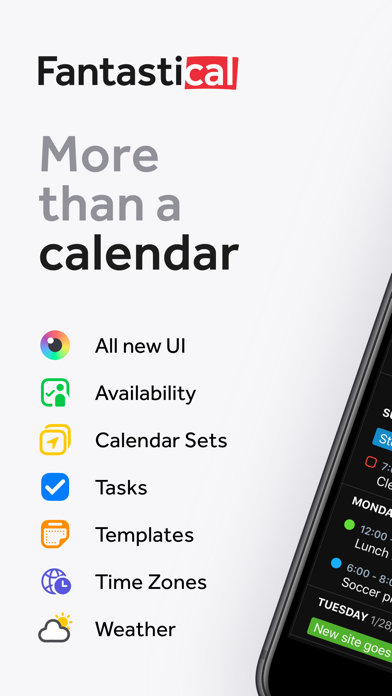 Fantastical - Calendar & Tasks Screenshot on iOS
