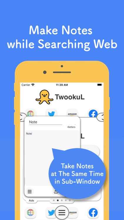 TwookuL -Dual Screen Browser-