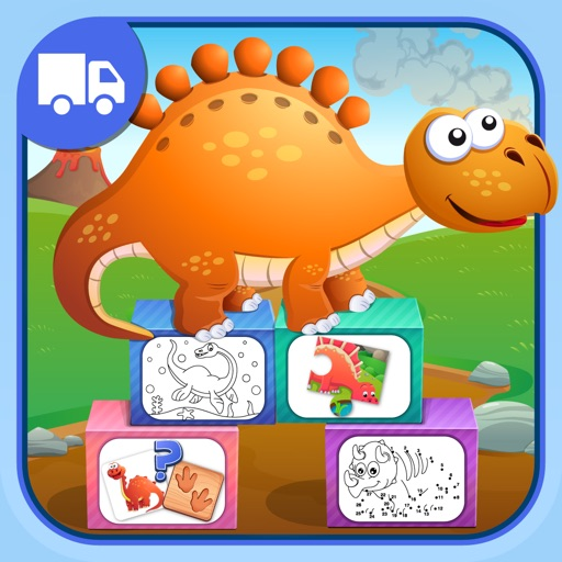 Dinosaurs For Kids Fun Games