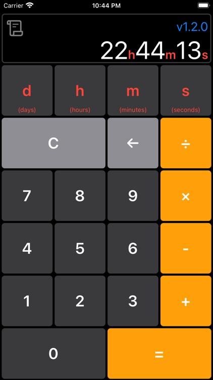 Time Calculator Simple&Easy screenshot-6