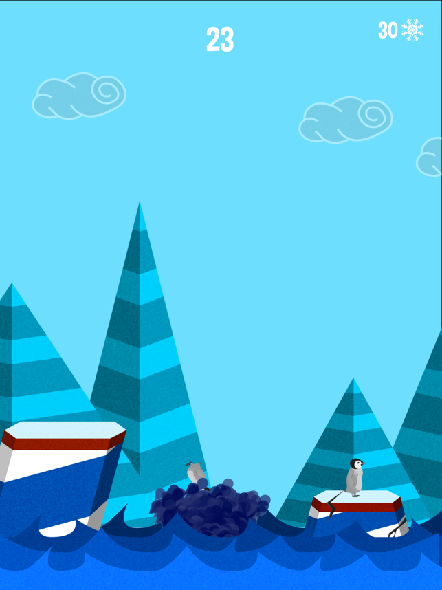 Berg, game for IOS