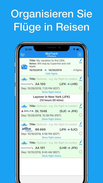 messages.download SkyTrack - Flugzeug radar fly software