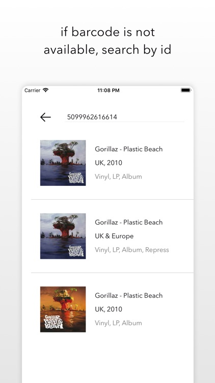 Vinyl - Scan and see the info screenshot-3