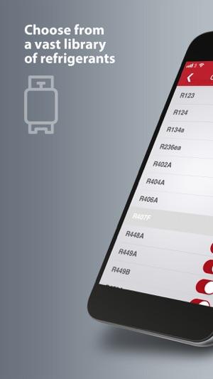 Refrigerant Slider on the App Store