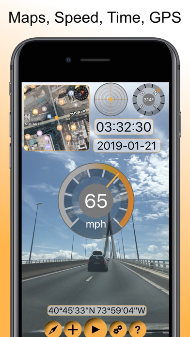 Timestamp Camcorder Pro: Maps Screenshots