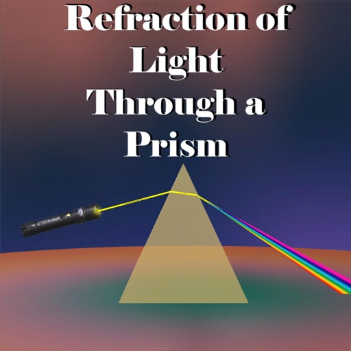 Light Refraction Through Prism
