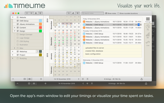 ‎Timelime | Time tracking Screenshot