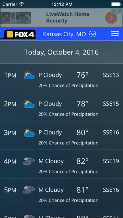 WDAF Fox 4 Kansas City Weatherのおすすめ画像5