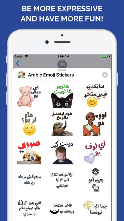 Arabic Emoji Stickers screenshot-6