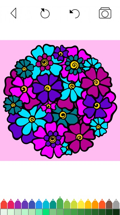 Mandala Coloring Pages Games screenshot-5