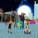 Family Shopping Supermarket 3D