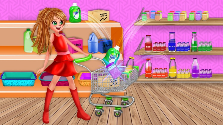 Rainbow ASMR Slime Simulator screenshot-3