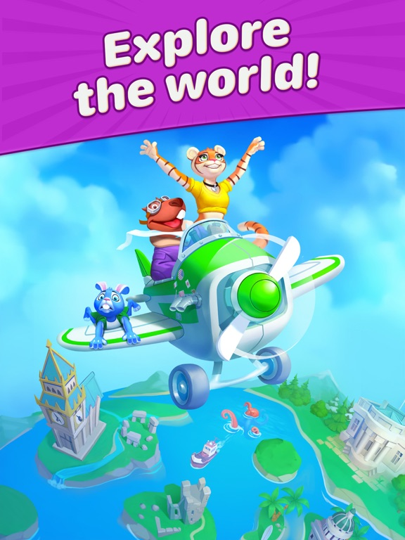 Travel Blast: Puzzle Adventureのおすすめ画像13