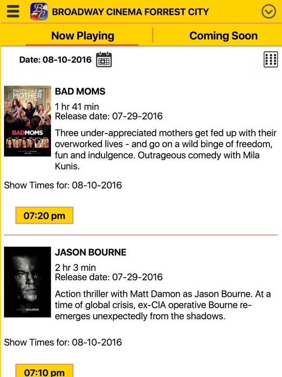 Broadway Cinema App Price Drops