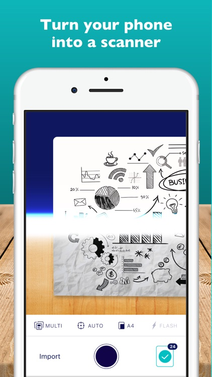 Scanner App ∙ Scan & Sign PDF screenshot-0
