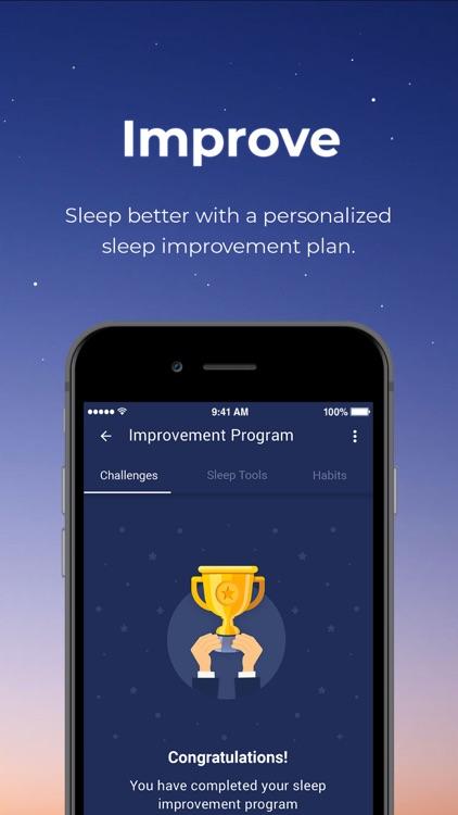 Sleeprate: Improve your sleep