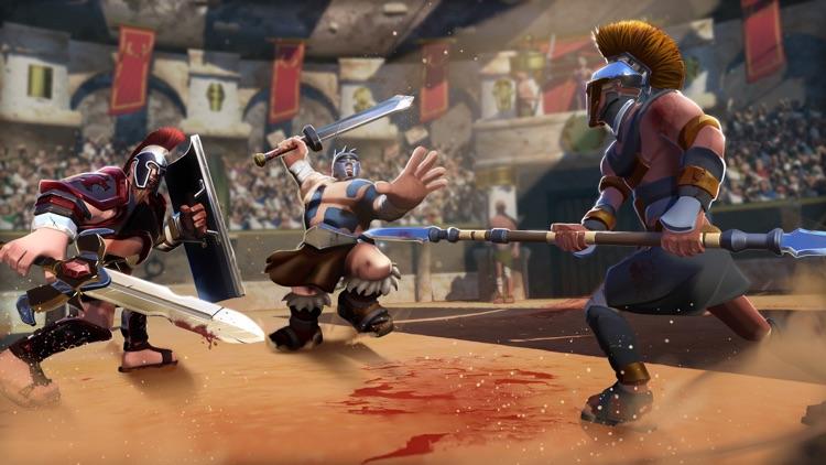 Gladiator Heroes - Clans Clash screenshot-7