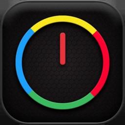 Crazy Wheel- Ticking colors