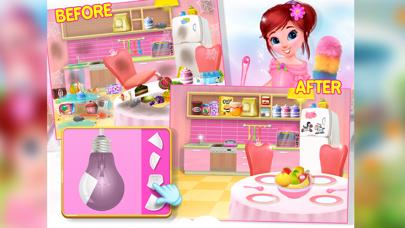 Princess House Cleanup Fun screenshot three