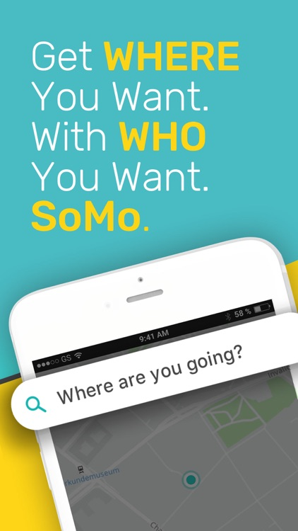 Plan & Ride Together with SoMo